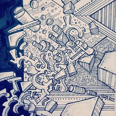 Abstract 3d drawing (nikita_grabovskiy) Tags: art artist drawing paining color pencil tattoo tattoos arts artists draw drawings sketches sketch design pattern patterns abstract paintings painter paint create creative colors artwork artworks cool pen modern contemporary creativity artistic zentangle mandala mandalas zentangles doodle doodles doodling print prints black surrealism surreal collage image images picture pictures zen henna arte artista dibujo pintura tatuaje lápiz artiste tatouage dessin couleur peinture crayon арт художник карандаш рисунки рисунок узор узоры картина искусство татуировка