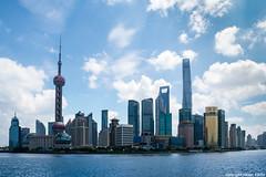Skyline (cvielba) Tags: china malecon rascacislos rio shanghai