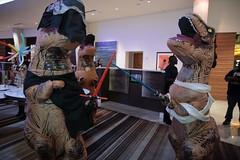IMG_9190 (wesuah) Tags: dragon con dragoncon 2016 tyrannosaur costume kylo rex tyrannosaurs rey