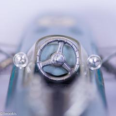 Macro Mondays: Planes, Trains and Automobiles (brookis-photography) Tags: planes trainsandautomobiles macromondays car steeringwheel mirrors modelcar planestrainsandautomobiles schuco1072 formel2 bmw
