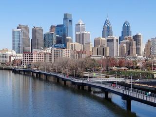 Philadelphia Skyline & the Schuylkill Banks