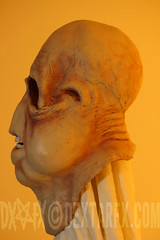 Bad Taste mask (Dextar FX) Tags: new costumes halloween monster costume mask cosplay alien bad rubber jackson replica peter zealand clay horror latex mutant taste creature effect cantina specialeffects dextarfx dextareffects