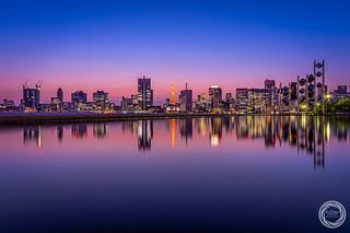 Symmetry of Tokyo Cityscape