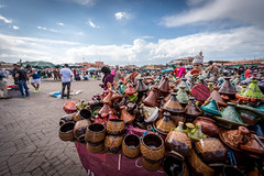 03.04.2015_00054 (dancarln_uk) Tags: wood travel blue red white tourism yellow architecture square nikon arches mosque morocco marrakech marco marrakesh dslr d810 kotoubia jamaaalfina