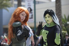 "Shego from the Disney Channel's ""Kim Possible"" (blind7snow) Tags: photography nikon cosplay disney cosplayer conventions kimpossible wondercon disneychannel shego nikonphotography d700 nikond700 cosplayphotography wonderconanaheim wondercon2015"