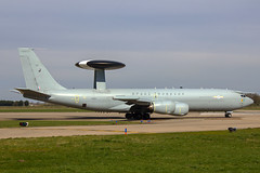 Boeing E-3D Sentry AEW1 - ZH104 - Royal Air Force - RAF Coningsby (Thommo60) Tags: warning early force air royal 8 boeing e3 airborne raf squadron waddington sentry awacs coningsby aew1
