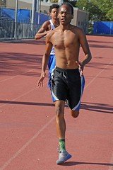 D122484A (RobHelfman) Tags: sports losangeles track highschool practice crenshaw stefanmitchell simeonorman