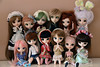 Fratrie avril 2015 (DidiTisseDesLiens (AB)) Tags: iris red fan milk doll meg dal holly collection carla hood margot pullip bloody latte kiyomi fc nanette xiao lucie alix mathieu loa philippine natsume clémence rubis vanille brh ddalgi taeyang mazarine stica