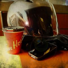Addictions (jumpinjimmyjava) Tags: coffee escape helmet riding addictions flare motorcycle