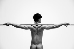 Human Body Study (Drew Osumi) Tags: male nude asian model workout fitness