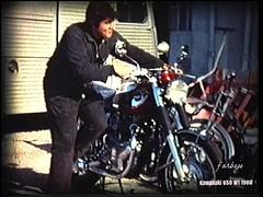 farbojo Motos 1966..... (farbojo Photography) Tags: motocycliste kawasaki 650 1966 kawasakiw16501966 motoclubdemartigues motos farbo farbojo martigues