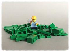 Build it yourself (jarekwally) Tags: lego build moc lugpol wallyjarek jarekwally