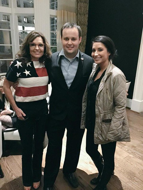 JOSH DUGGAR With Sarahn Palin 2