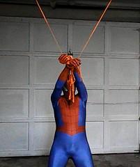 bhg7 (jayphelps) Tags: fetish cosplay spiderman superhero batgirl spandex superheroine