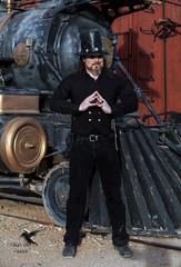 Steampunk Rail Baron (thePhotographerRaVen) Tags: arizona tucson fantasy reno wildwest steamengine steampunk oldtuson wwwc locootive photosbyraven wwwc5
