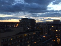 IMG_2535 (Sweet One) Tags: sunset dusk vancouver bc britishcolumbia canada myapartment view rooftop