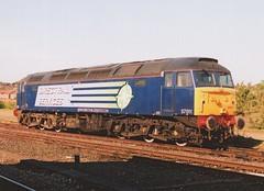 "Direct Rail Services Class 57/0, 57011 (37190 ""Dalzell"") Tags: drs directrailservices compass brush type4 gm generalmotors geneticallymodified bodysnatcher heinz57 class47 class473 class57 class570 57011 47329 d1810 york"