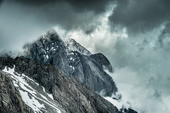 Mist and Wind (banpreso) Tags: china yunnan yulong mountain snow sky cloud cold wind landscape height sony a7 zeiss