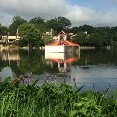 Lake Thoreau on Sunday Morning (procktheboat) Tags: restonvirginia restonva art simon lakethoreau