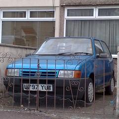 (uk_senator) Tags: 1994 fiat uno mk2 blue