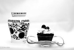 decadence 51/52 (sure2talk) Tags: decadence blackforestcupcakes chocolate cherries fabbriwildamarenacherries amarena nikond60 nikkor50mmf14gafs wtfnd 52weeksfornotdogs 5152 blackandwhite 7daysofshooting week1 fruity blackandwhitewednesday