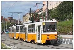 Tram Budapest - 2016-06 (Olher2) Tags: tram tramcar strassenbahn ungarn budapest tatra t5c5