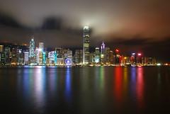 Hong Kong ([re:petephotography]) Tags: city skyline lights cityscape nightscape hong kong skyscrapper