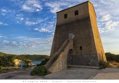 05 luglio 2016 - Vieste - Torretta Costiera (Andrea di Florio (5,000,000 views)) Tags: panorama landscape nikon mare estate alba 28 sole puglia spiaggia vacanza d600 foggia 2470 viste andreadiflorio