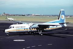 0568 (dannytanner804) Tags: airport friendship aircraft sydney australia smith international nsw date airlines reg owner fokker kingsford eastwest f27500 vhewocn10341 1731982 airportcodeyssy
