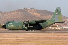 592_C-130B_UruguayAF_SCL (Tony Osborne - Rotorfocus) Tags: lockheed c130 hercules transport aircraft uruguay air force fau c130b fidae airshow santiago 2010 chile