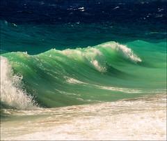 Summer waves (Katarina 2353) Tags: seascape summer waves sea greece rhodes europe katarina2353 katarinastefanovic nikon film