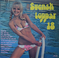 Various Artists - Svensktoppar 18 (KvikneFoto) Tags: lp records recordcovers vinyl