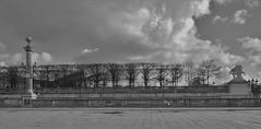 Paris Concorde (Paolo_Monti) Tags: noirblanc blancoynegro bw biancoenero paris france em1 1240 concorde sky clouuds