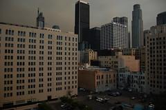 Fuego_5105 (Omar Omar) Tags: losangeles losngeles losangelesca losngelescalifornia la california californie usa usofa downtown downtownlosangeles dtla downtownla sandfire smoke nikond40