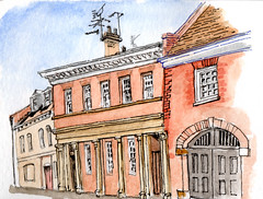 Former fire engine house, St Andrewgate, York