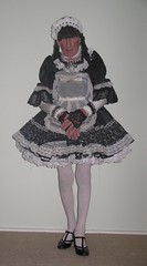 Sissymaid1 (marcia2015au) Tags: tv cd crossdresser crossdressing sissy dressing cosplay petticoats sissymaid maid
