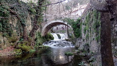 Bridge-1 (afilitos) Tags: central greece livadeia herkyna river          stone bridge