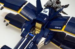 X-Plane - cockpit (Sylon-tw) Tags: sylontw sylon xwing x plane aircraft airplane dieselpunk dieselpulp moc lego skyfi wing wings