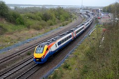 222012 222 aa Wellingborough 220416 D Wetherall (MrDeltic15) Tags: eastmidlandstrains meridian class222 222012 wellingborough midlandmainline