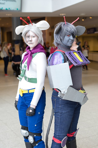 Biker Mice from Mars cosplay