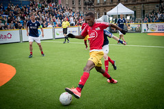 Homeless World Cup 2016, George Square, Glasgow, Scotland - 12 July 2016 (Homeless World Cup Official) Tags: hwc2016 homelessworldcup aballcanchangetheworld thisgameisreal streetsoccer glasgow soccer scotland grenada