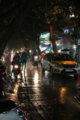 Rainy Day (Miaamalie) Tags: raining hanoi vietnam night oldquarter rainingseason
