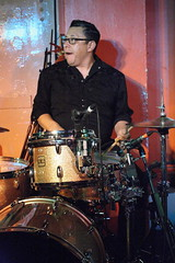 Dale Watson & The Lone Stars (2016) 11 - Mike Bernal (KM's Live Music shots) Tags: countrymusic unitedstates texas mikebernal dalewatson drumkit drums 100club