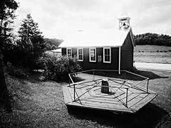 (old)school days... (BillsExplorations) Tags: school schoolhouse oneroomschoolhouse old vintage historic wisconsin education restoration schooldays playground merrygoround recess