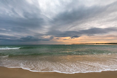 Storms over Bribie Island (jan_clewett) Tags: bribieisland sunset cold stormy seascape pumicestonepassage southeastqueensland sunshinecoast caloundra happyvalley
