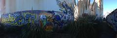 (Nomad_Vagrant) Tags: art logo skeleton graffiti apache close bayarea eastbay ankh tanks watertanks 640 logo640