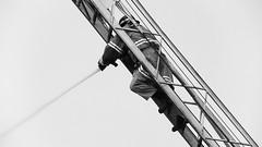 Firefighter (Yuri Hutflesz) Tags: brazil bw water gua riodejaneiro fire blackwhite rj gray pb hose fireman escada ladder firefighter cinza pretoebranco ufrj mangueira incndio praiavermelha bombeiro universidadefederaldoriodejaneiro federaluniversityofriodejaneiro internationalfirefightersday