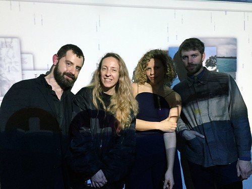 wet_team_with_curators_fabrizio_meris_and_gloria_maria_cappelletti_MB_and_Alessando_Possati_from Zuecca_project_space