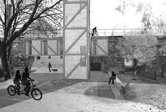 Student project in Horní Jiřetín. View of the object