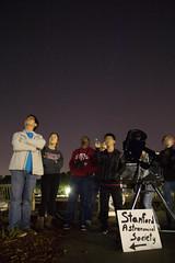 Stargazing at the Main Quad